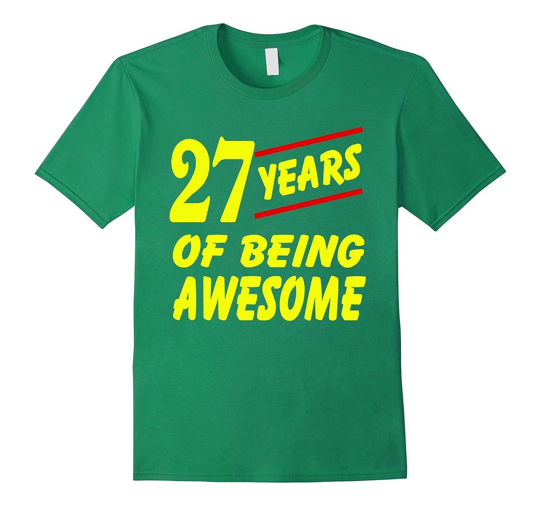 27th Birthday 27 Years Awesome-Awarplus