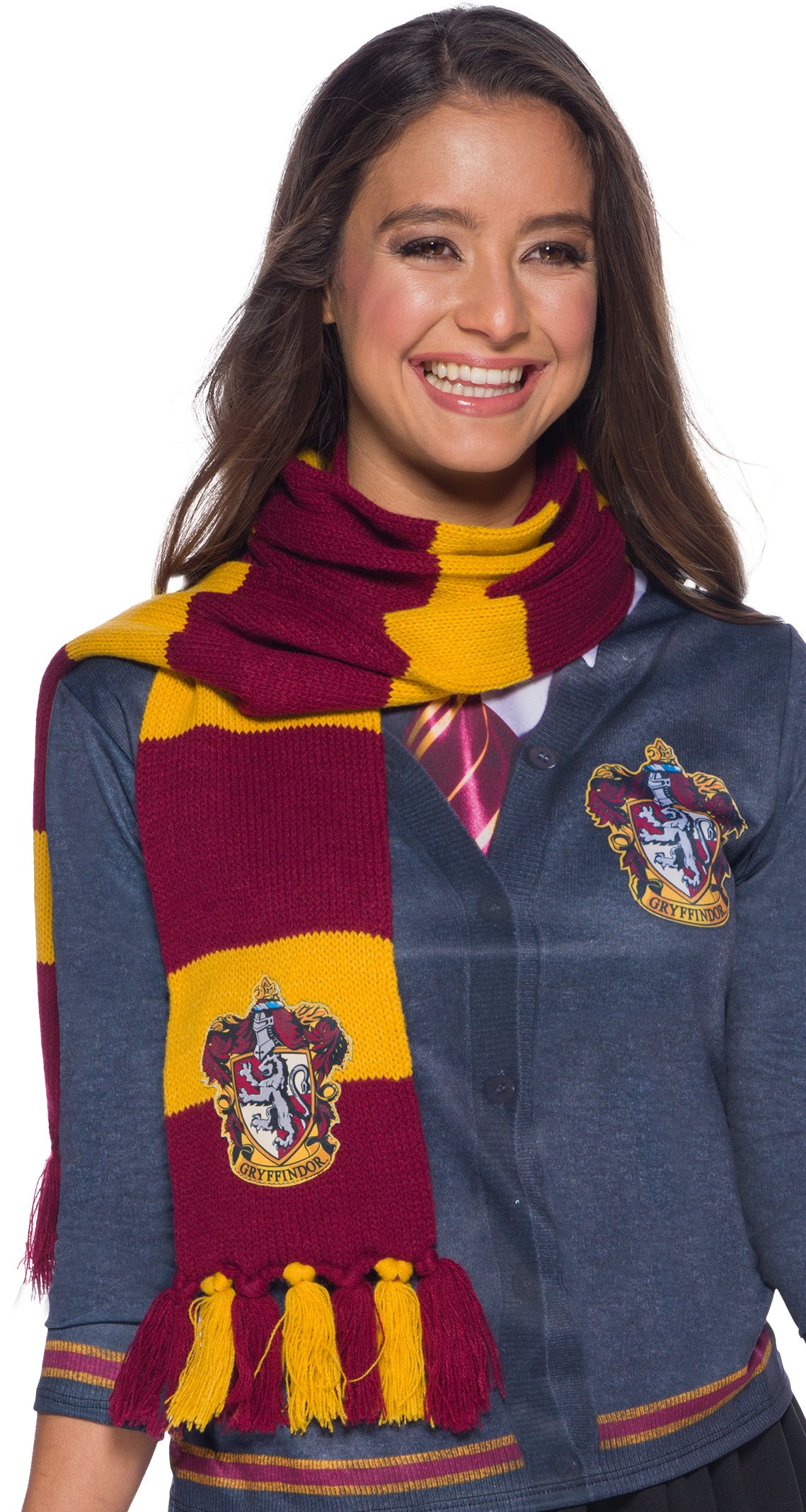 Rubie's Adult Harry Potter Scarf, Gryffindor