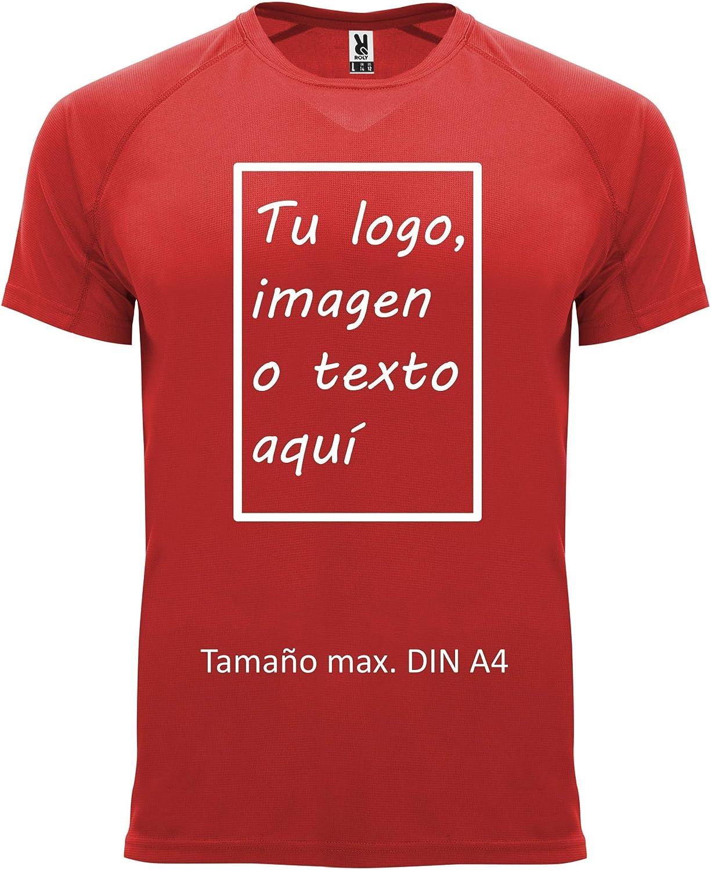 rainUP – Camiseta Técnica Personalizable – Camiseta Deportiva ...