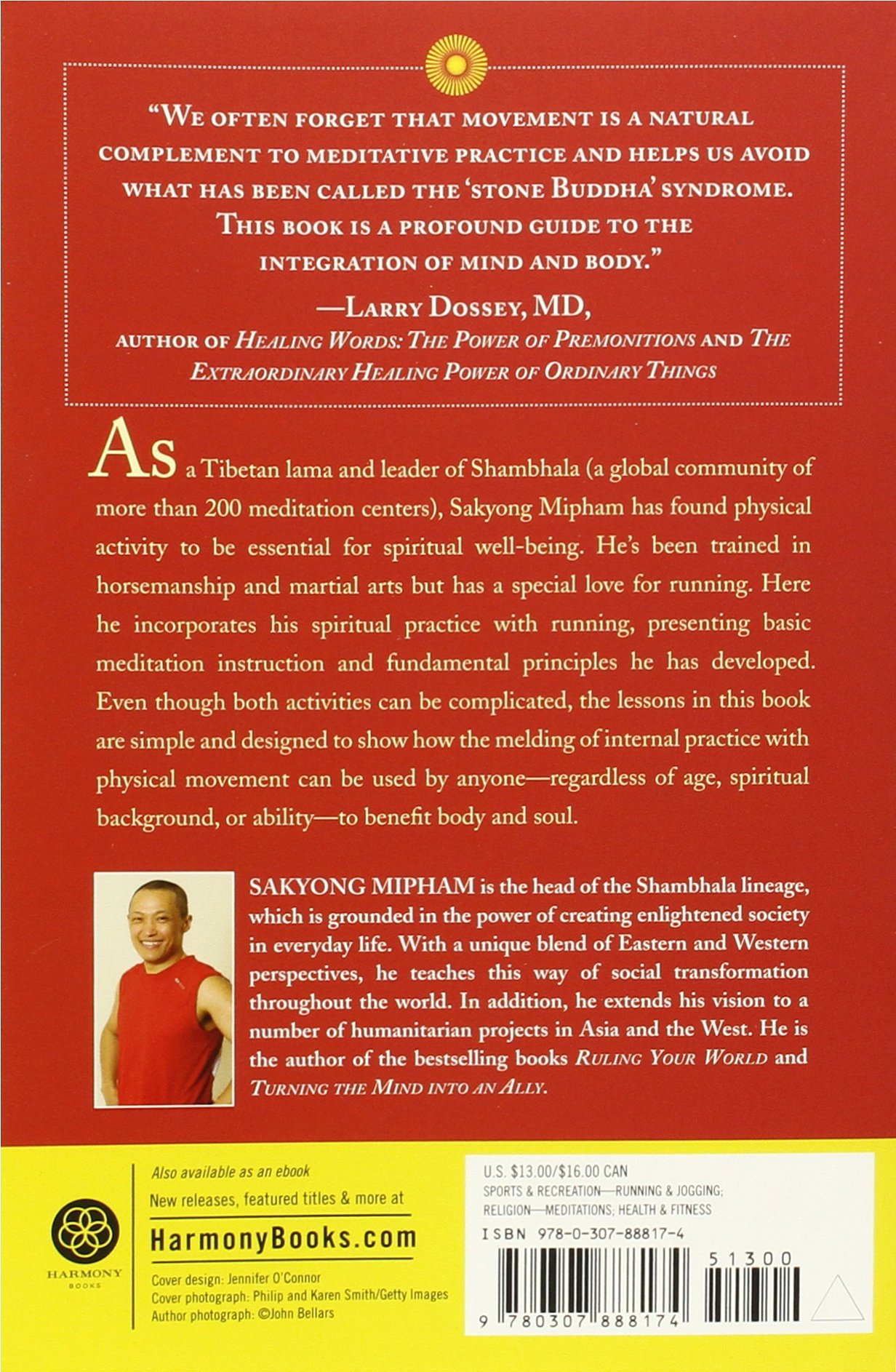 Running With The Mind Of Meditation: Lessons For Training Body And Mind:  Sakyong Mipham: 8601300190211: Amazon: Books