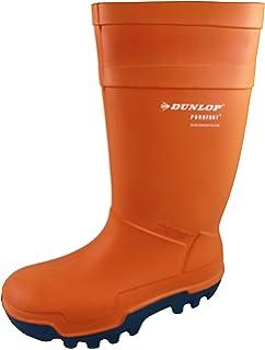 Dunlop Unisex Erwachsene C662343 Purofort Thermo Plus Voll Sicherheit Regenstiefel Schuhe - unisex-erwachsene, Orange, EU 48