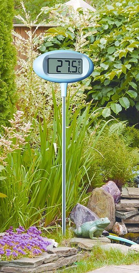 Digitales Design Gartenthermometer /'Orion/'