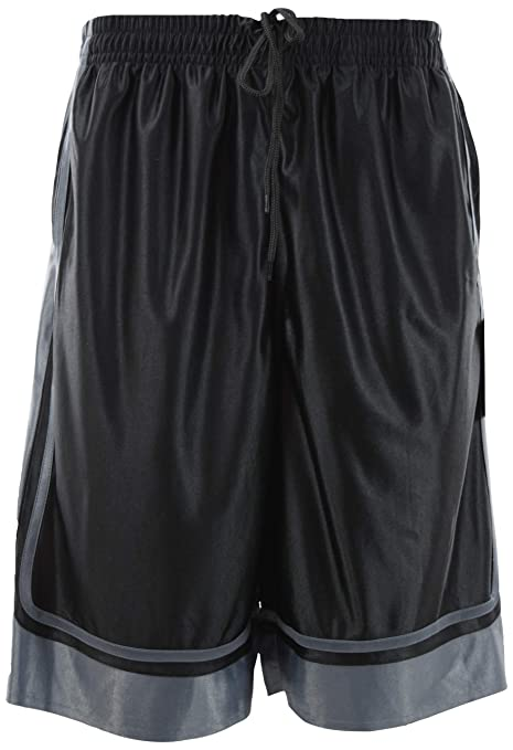 hoiceApparel Mens Two Tone Training/Basketball Shorts with Pockets (S up to 4XL)