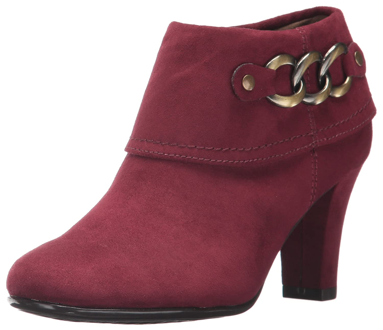 Aerosoles Women's First Role Ankle Boot B073DNPQP5 8.5 W US|Wine Fabric