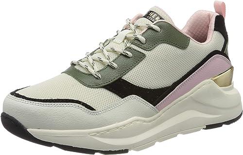 Skechers Rovina, Zapatillas para Mujer: Amazon.es: Zapatos y ...