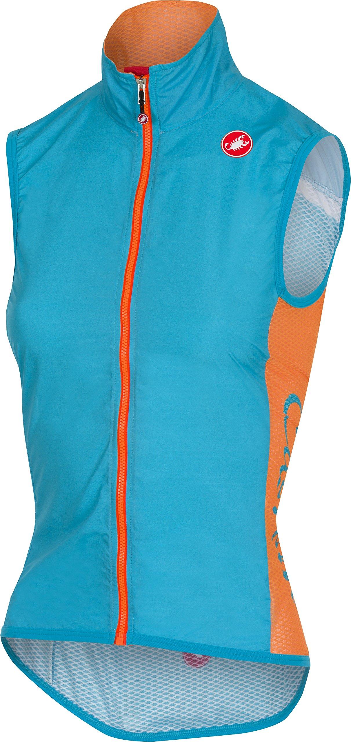 Castelli Pro Light Wind Vest - Women's Sky Blue, XL