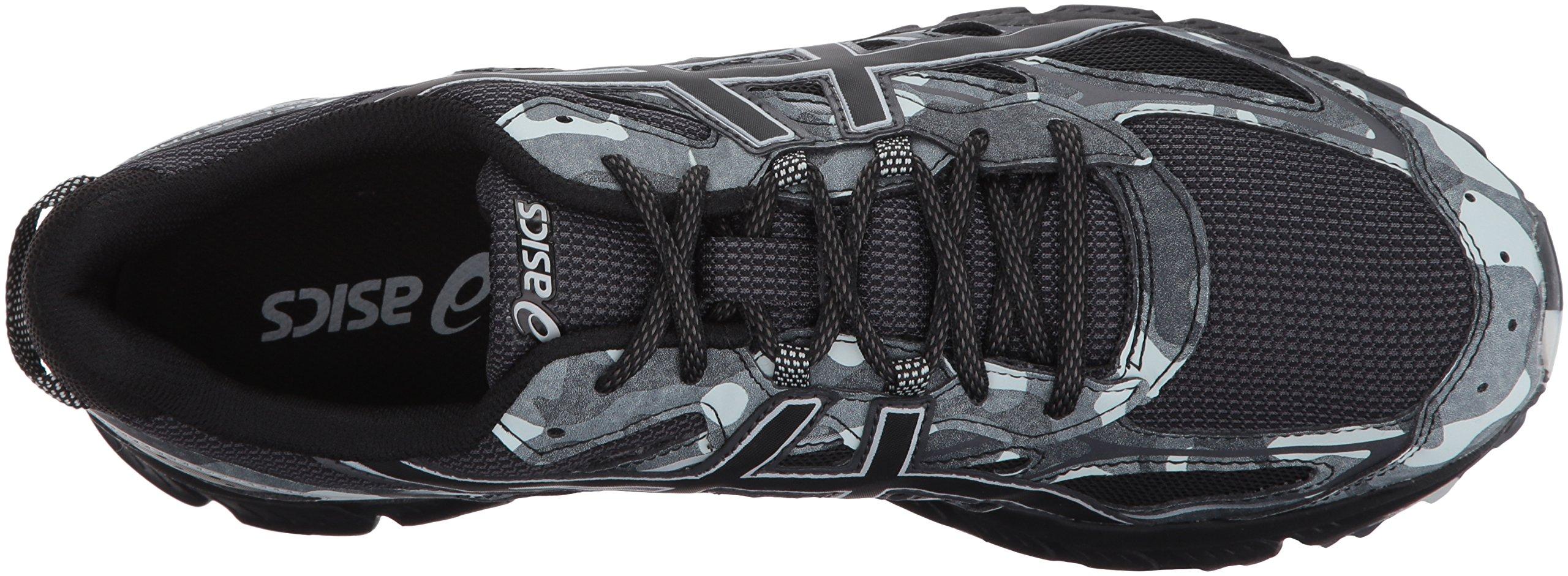 online store 9dd18 989ff ASICS Mens Gel-Scram 3 Running Shoe, Black/Glacier Grey, 10 ...