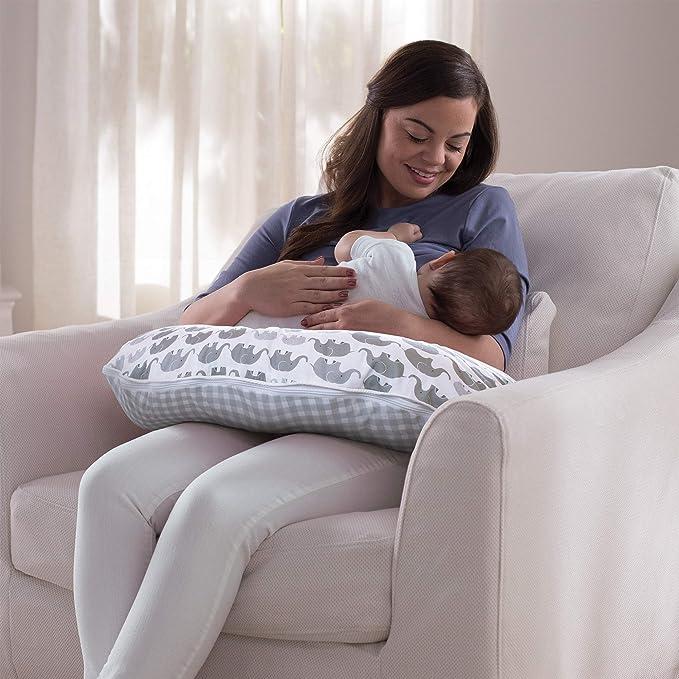 Amazon.com: Boppy - Funda de microfibra para almohada de ...