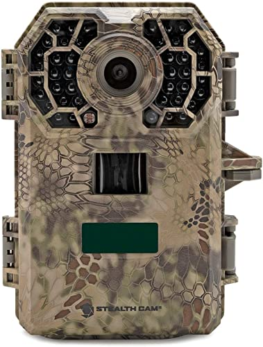 Stealth Cam 2020 G42NG 24MP Trail Camera and Memory Card Bundle. No-Glow Flash, 100-Ft. IR Range, Kryptek Camo 3 Items
