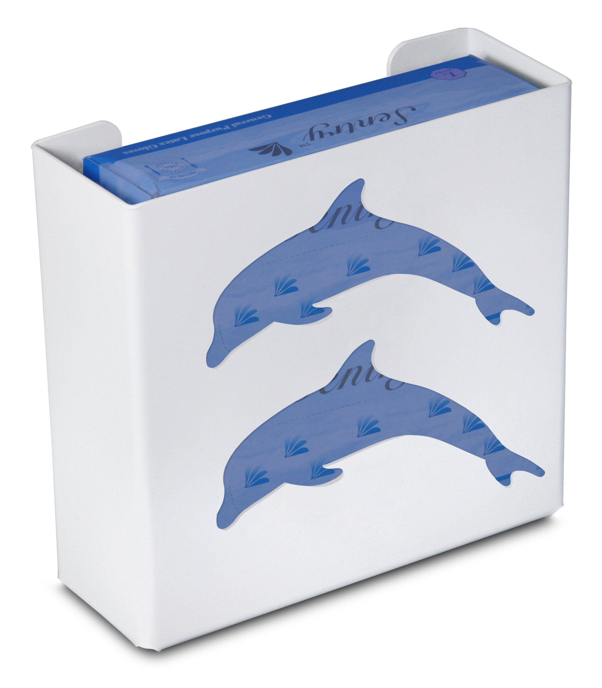 TrippNT 50856 Priced Right Double Glove Box Holder with Dolphin, 11'' Width x 10'' Height x 4'' Depth