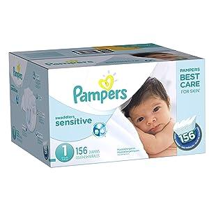 Pampers Sensitive Newborn Diapers Review