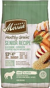 Merrick Healthy Grains Dry Dog Food Senior Recipe - 25 lb. Bag