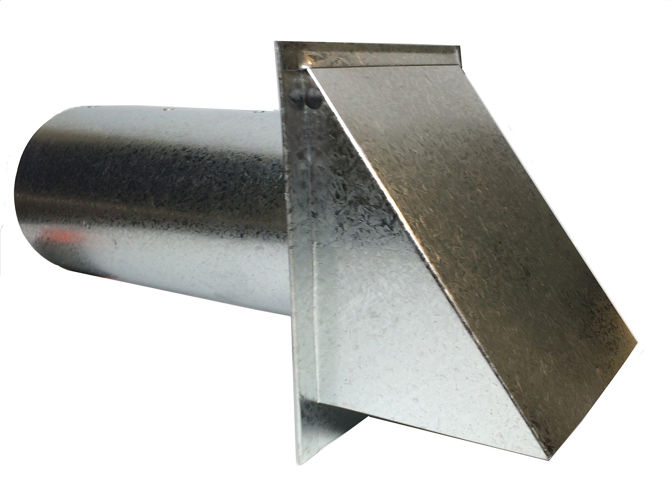 Dryer Vent - 4 Inch Metal Dryer Vent Hood