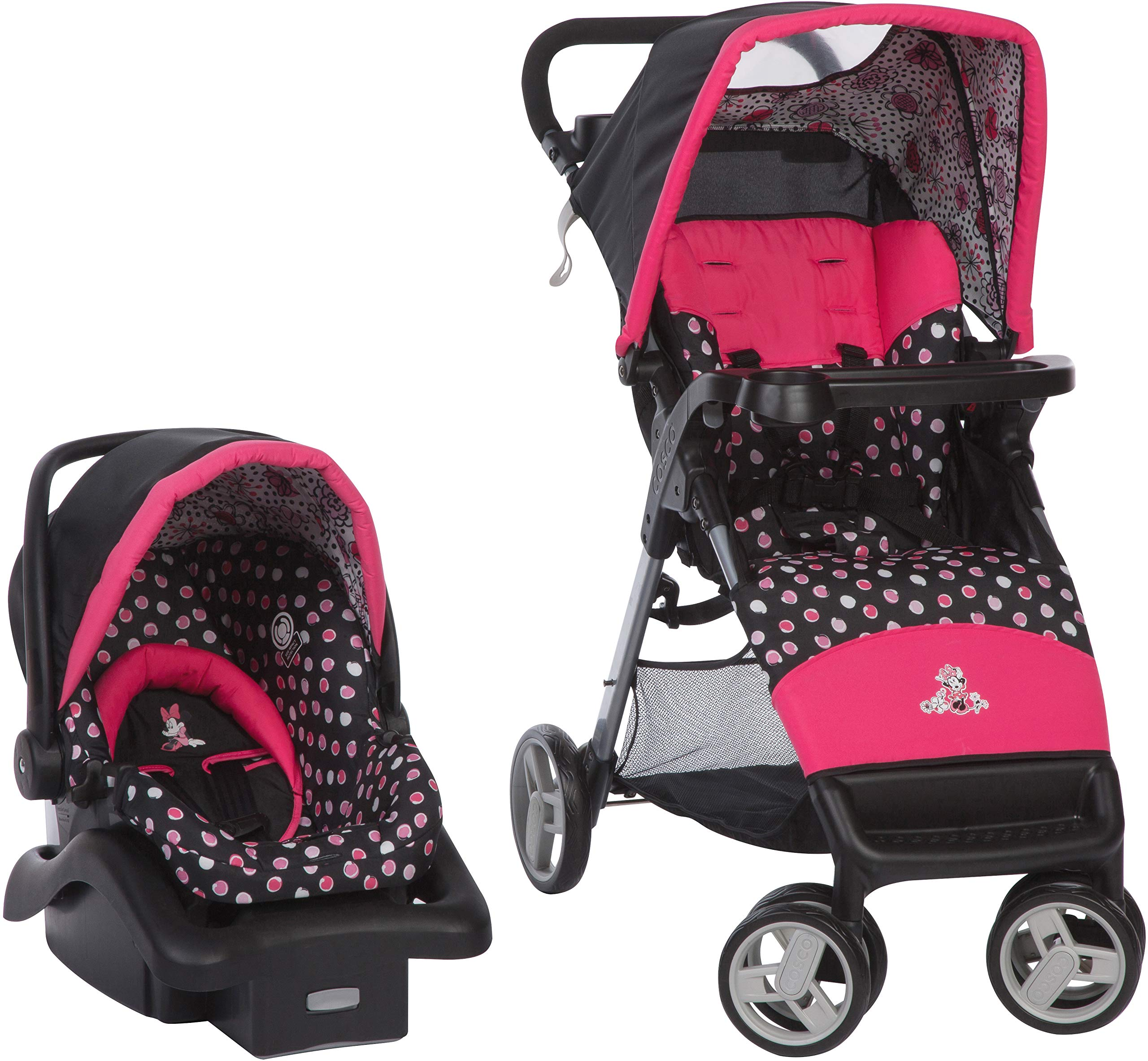 Disney Baby Simple Fold LX Travel System, Minnie Mash Up by Disney Baby