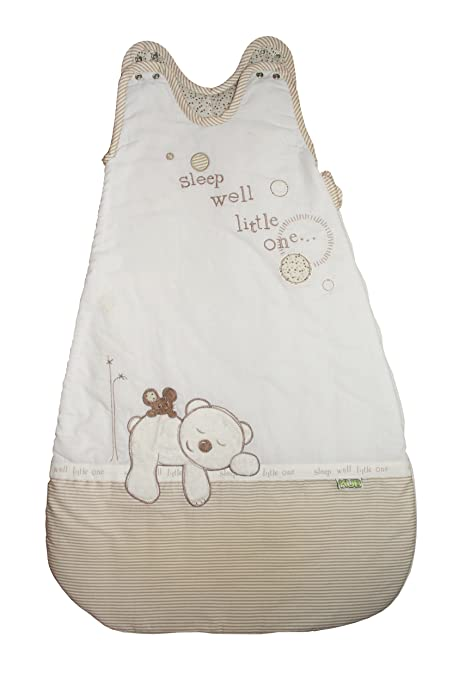 Kub guardería, dormir bien poco un bebé saco de dormir (Beige)
