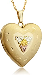product image for Black Hills Gold Large Heart Locket