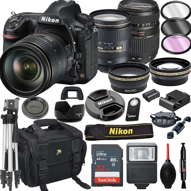 Amazon.com: Cámara réflex digital Nikon D850 con 0.945 ...