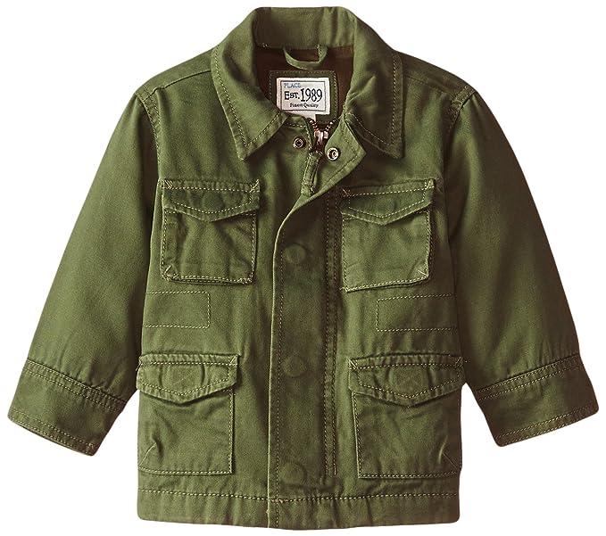 Amazon.com: El Lugar de los niños Boys chaqueta Militar ...