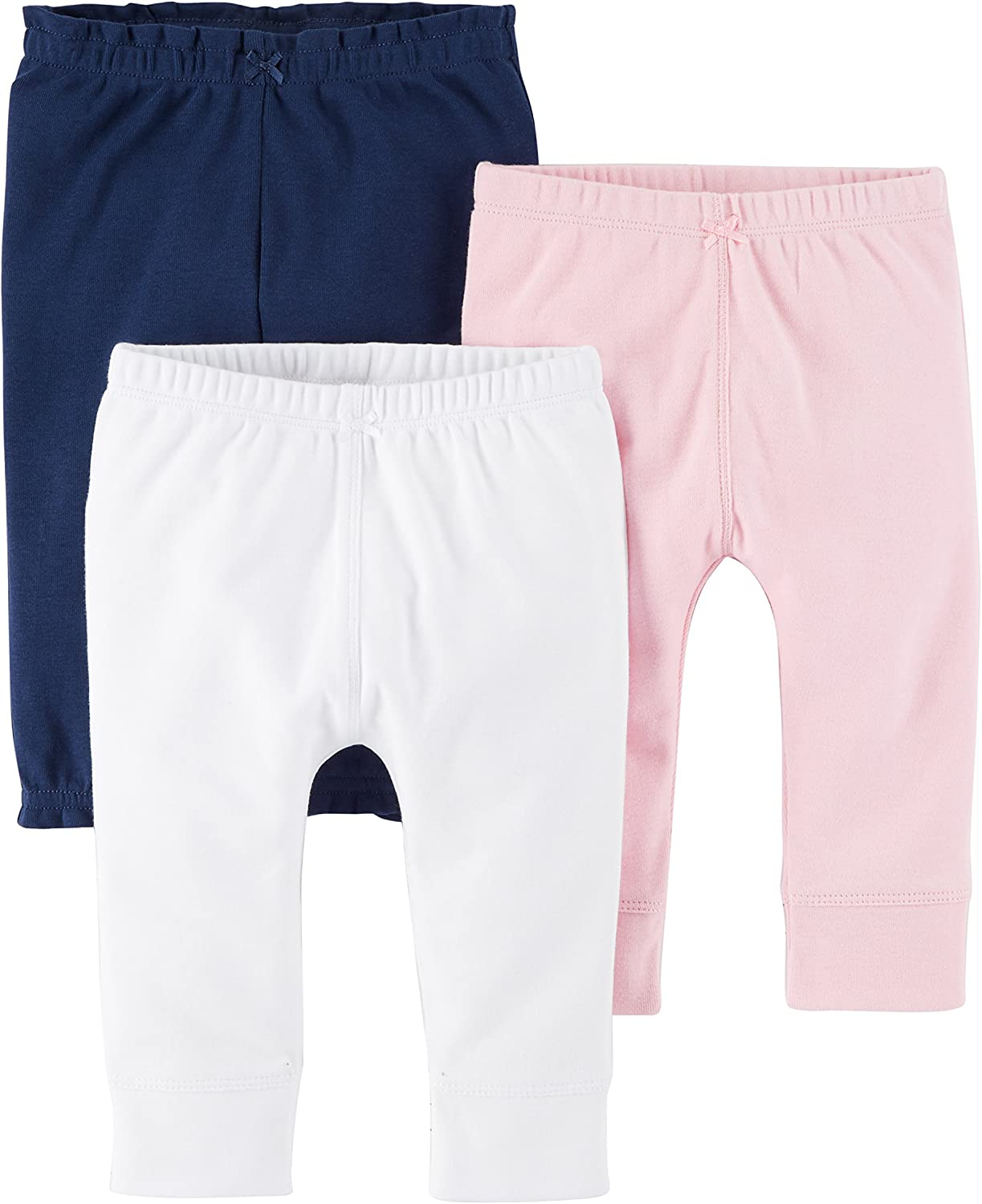 Carters Baby Girls 3-Pack Pants