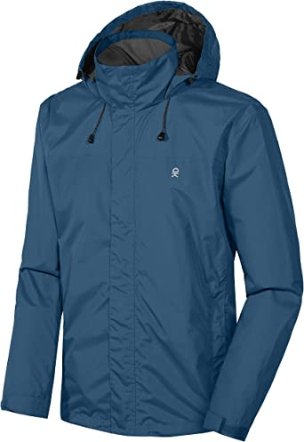 Little Donkey Andy Men's Waterproof Rain Jacket