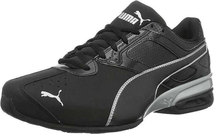 Puma Tazon 6 FM Sneakers Laufschuhe Herren Schwarz/Silber