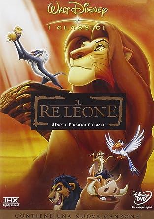 Il re leone ed.speciale: amazon.it: walt disney i classici.: film e tv
