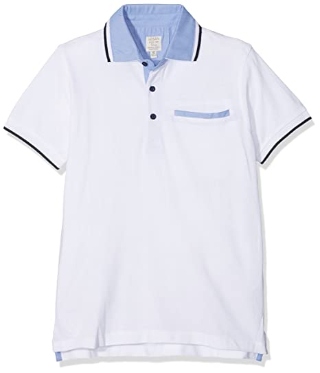 losan 813-1791AA Polo, Blanco (White), 16 años (Tamaño del ...