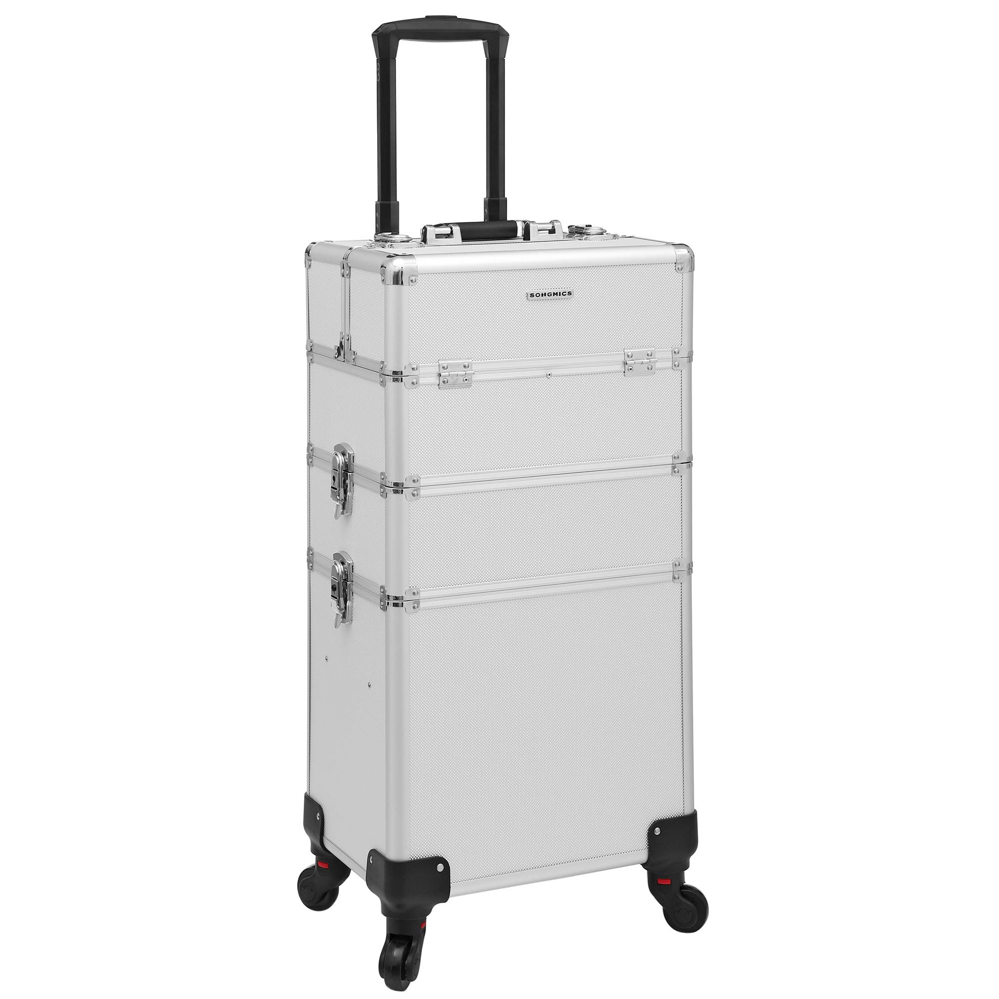 a77d321bc Songmics® beauty case Maleta multiusos tipo trolley Maletín para maquillaje  Estuche de maquillaje JHZ01S product
