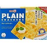 Meiji Plain Crackers, 104 g