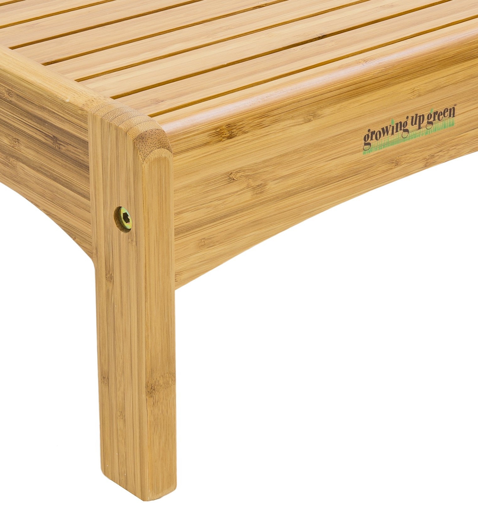Growing Up Green Bamboo Step Stool by Growing Up Green
