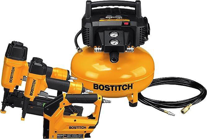 Bostitch Air Compressor Combo Kit 3 Tool Btfp3kit