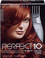 Clairol Nice'n Easy Perfect 10 Permanent Hair Color, 6R Light Auburn,