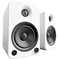 Kanto YU4 Powered Bookshelf Speakers with Bluetooth® and Phono Preamp (Matte White)