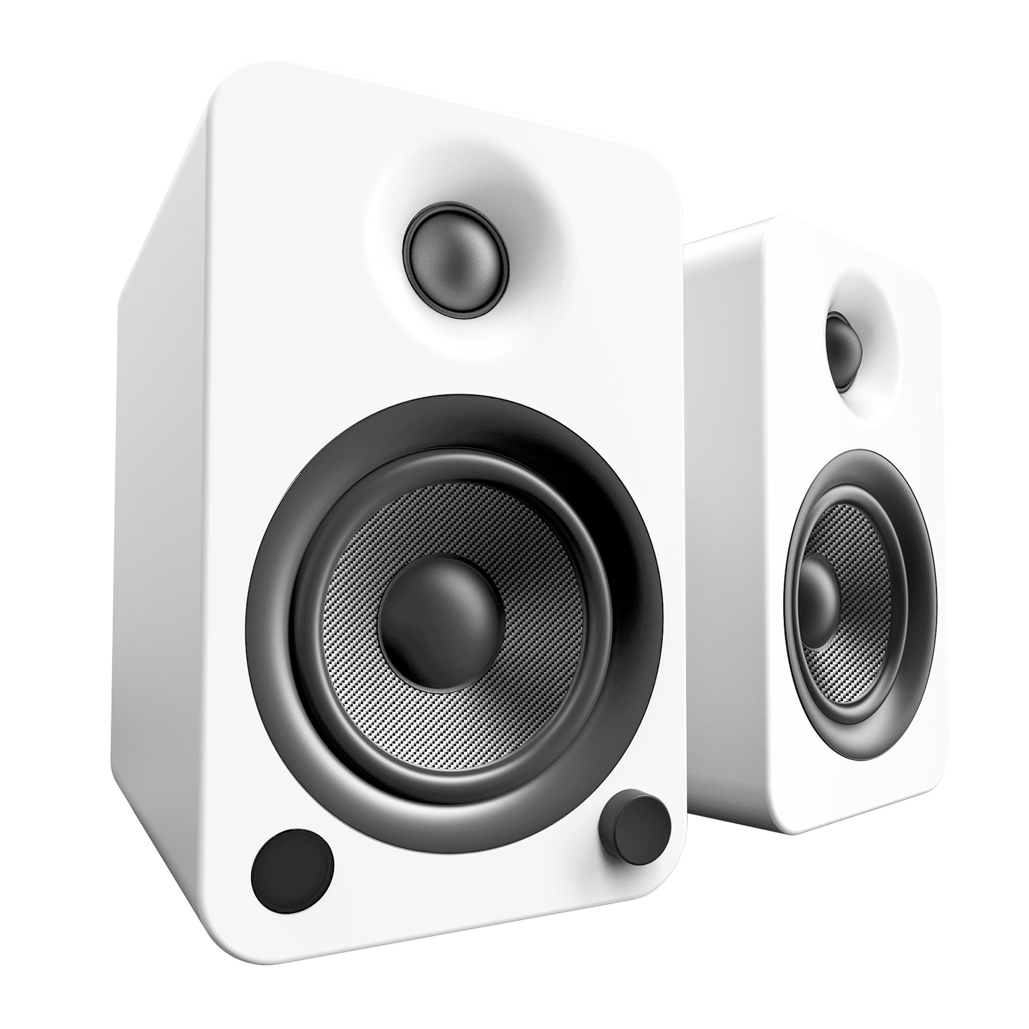 Kanto YU4 Powered Speakers with Bluetooth and Phono Preamp - (Pair) Matte White by Kanto