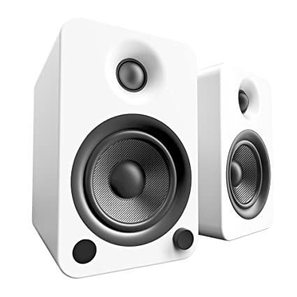 Kanto YU4 Powered Speakers With Bluetooth And Phono Preamp Matte White