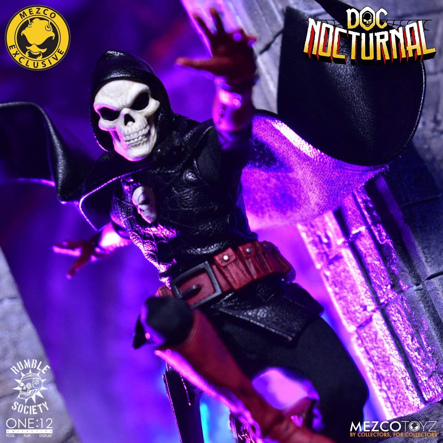 Mezco One 12 Doc Nocturnal Cape Only