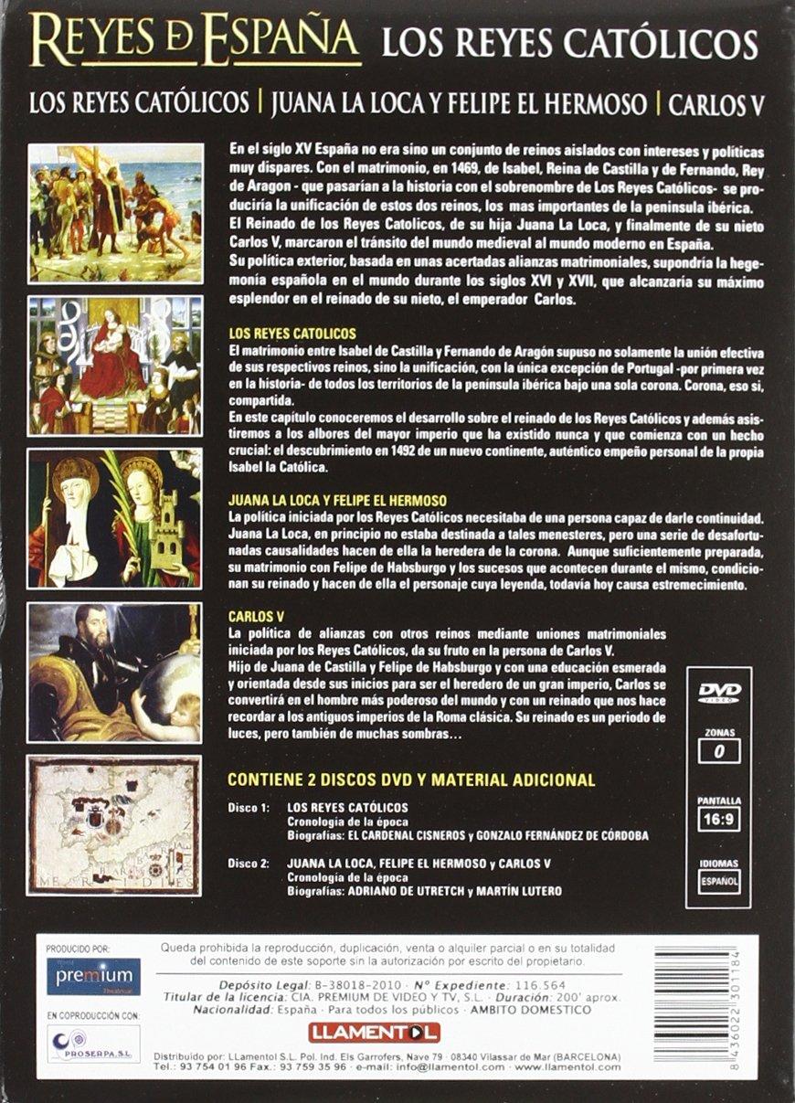 Reyes De España: Los Reyes Católicos [DVD]: Amazon.es: Varios: Cine y Series TV