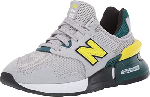 new balance gris amarillo