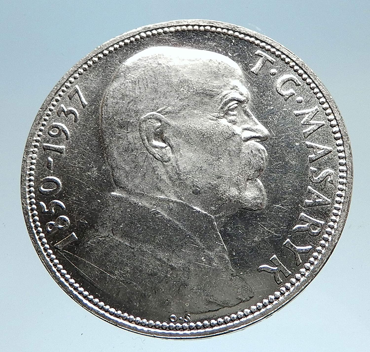 1937 unknown 1937 CZECHOSLOVAKIA President Masaryk Genuine