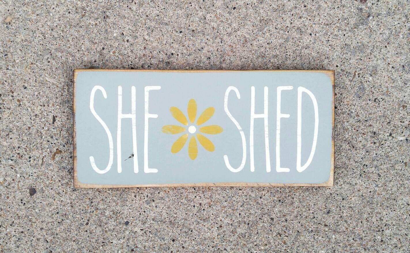 Ced454sy She Shed Sign Flower Garden Shed Signs Rustic Wood Yard