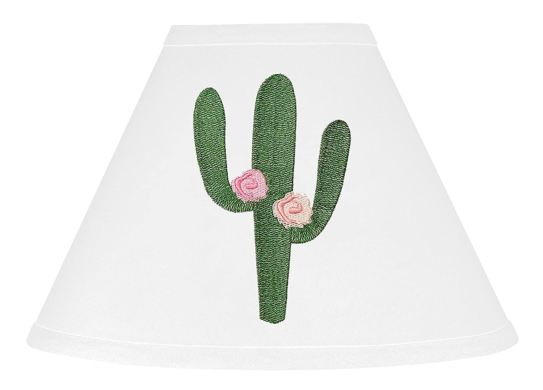 Amazon.com: Rosa y verde Boho lámpara sombra para cactus ...