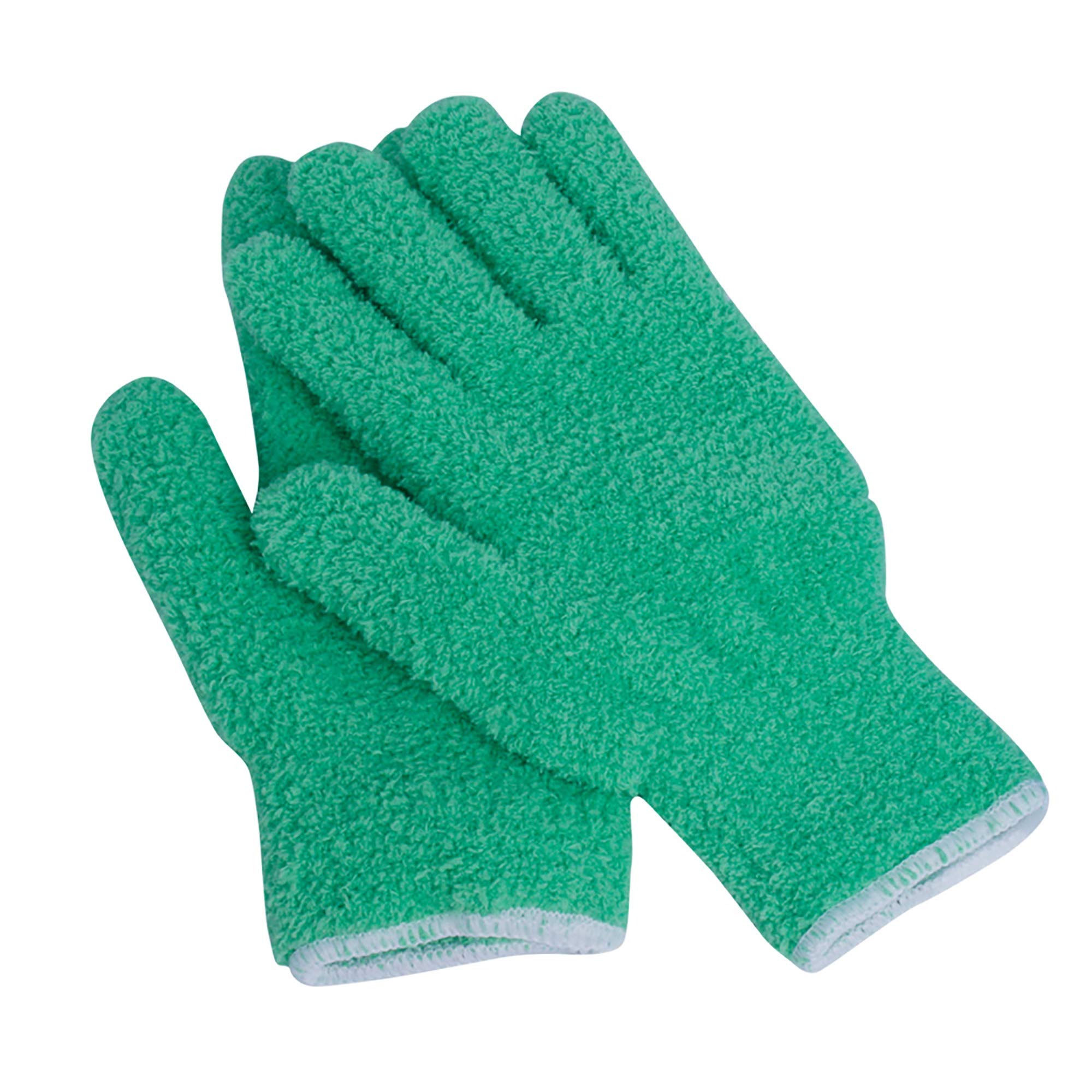 EvridWear Microfiber Auto Dusting Cleaning Gloves for Cars and Trucks, Dust Cleaning Gloves for House Industrial Chrome Parts, Perfect to Clean Mirrors, Lamps and Blinds Finger-Prints Smudges(L/XL)