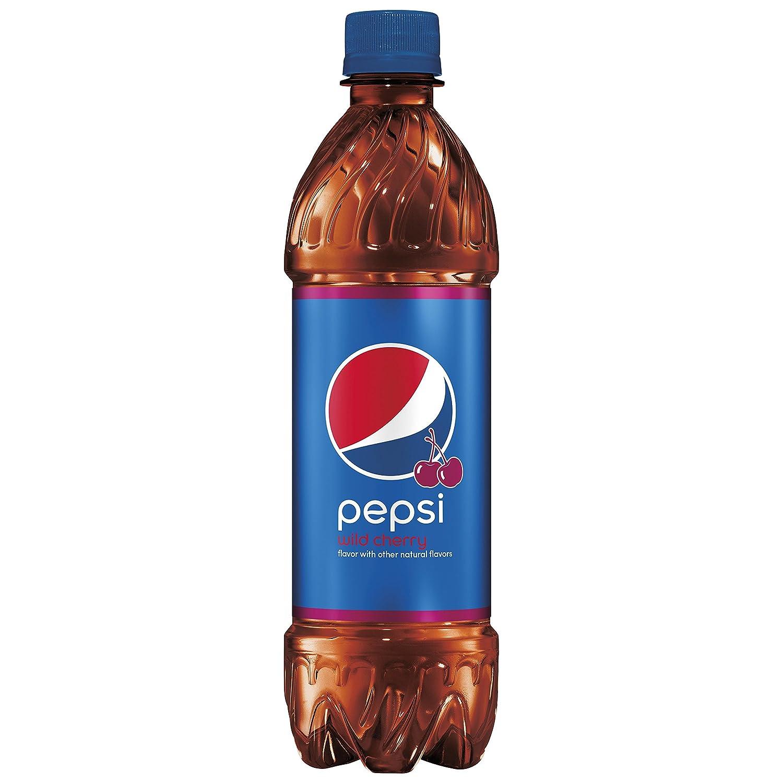 Amazon.com: Pepsi, Wild Cherry, Bottles (6 Count, 16.9 Fl Oz Each ...