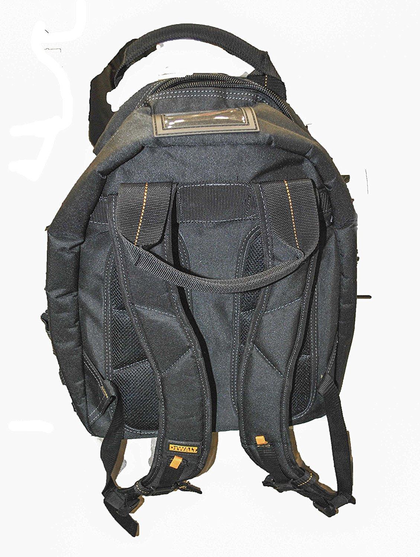 DEWALT DGL523 Lighted Tool Backpack Bag, 57-Pockets by DEWALT (Image #4)