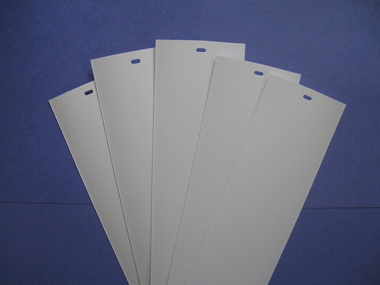 Pvc Vertical Blind Replacement Slat White 5 Pk 82 1 2 X
