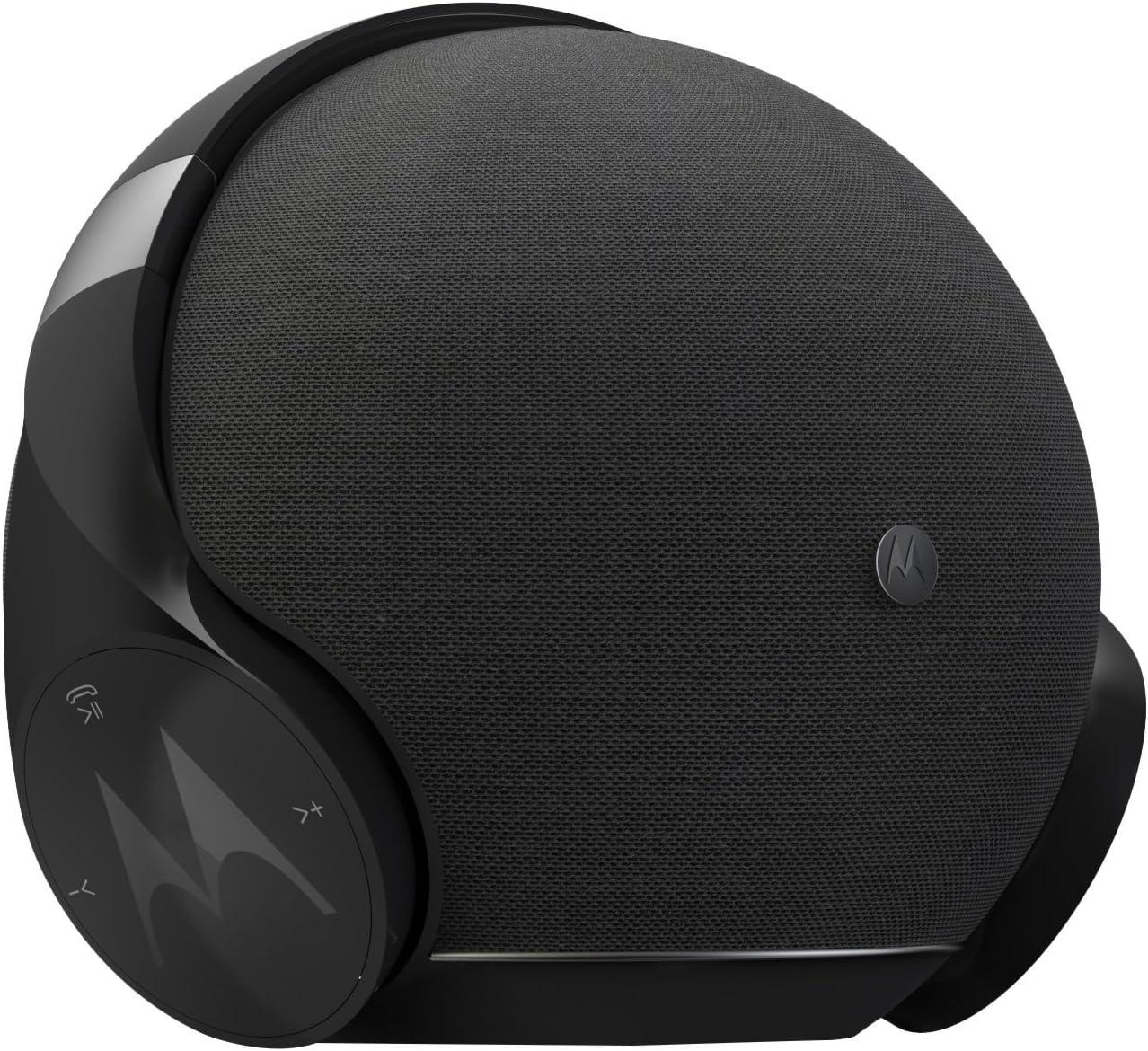 Motorola Sphere+ - 2 en 1: Altavoz Estéreo Bluetooth y Juego de Auriculares - Cascos y Equipo de Manos Libres - Nero