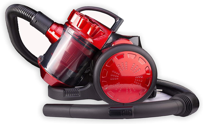 cleanix – Aspiradora ciclónica sin bolsa aspirador de mano, con filtro HEPA, Auto Aspiradora 700 W: Amazon.es: Hogar