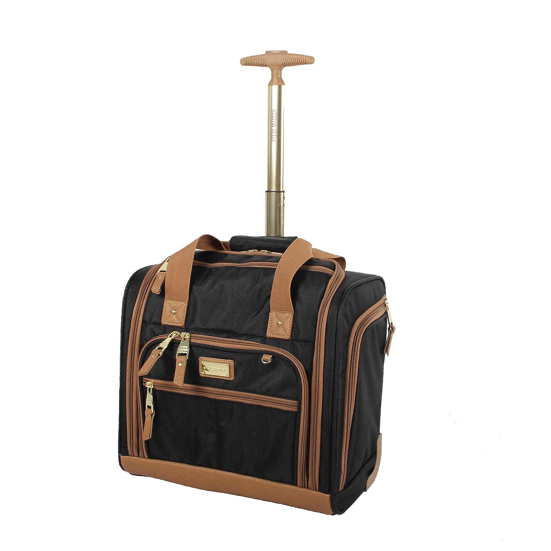 Steve Madden Luggage Wheeled Suitcase Under Seat Bag Harlo Black