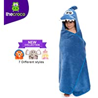 TheCroco Premium Hooded Towel: Ultra Soft, 100% Cotton, Super Absorbent, Thick, and Exceptionally Large.