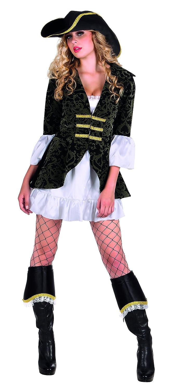 Boland Corsara Costume Donna per Adulti, Nero, M (40 42) 85044